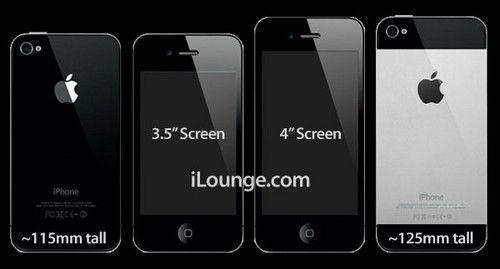 消息称下一代苹果iPhone将采用4英寸大屏。