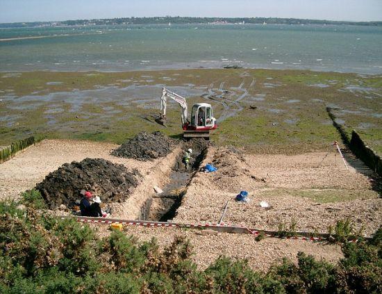 2号沟。科学家在这里进行挖掘时得出很多与多格兰有关的发现