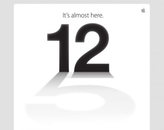苹果发邀请函:暗示9月12日将推出iPhone 5