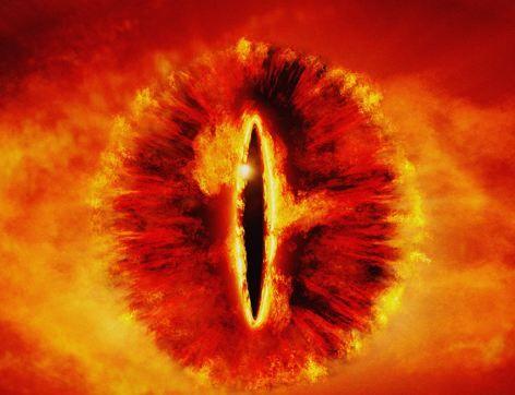 这张图片让人不禁想起《指环王》系列影片中的索伦之眼