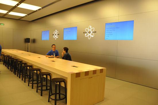 亚洲第二家配有360度开放式天才吧的苹果店