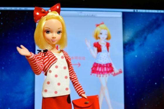 """""""安琪娃娃""""的实体版芭比娃娃"""