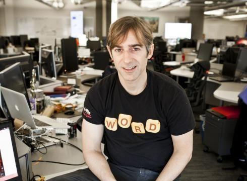 Zynga公司CEO平克斯(新浪科技配图)