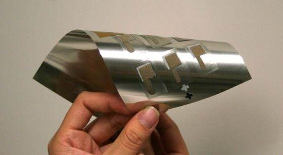 超薄可弯曲锌电池 或彻底改变穿戴式设备