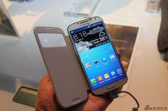三星最新一代智能手机Galaxy S4