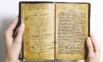 1640年出版的《海湾圣诗》