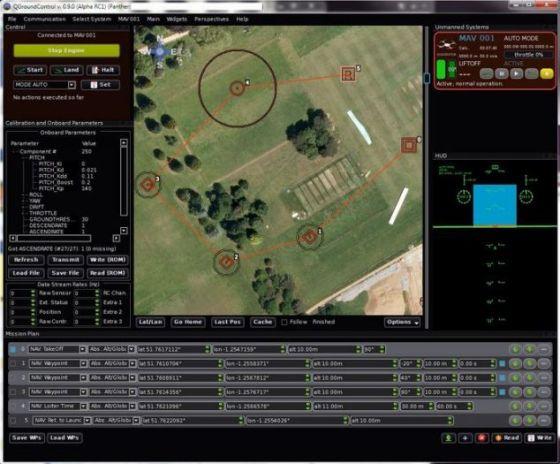 当前的版本通过地图软件控制,让其按照事先设定的路线飞行。未来的版本可以追踪手机信号