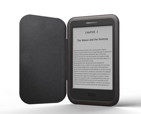 汉王科技宣布最新款电纸书产品――黄金屋乾光上市销售,售价849元。
