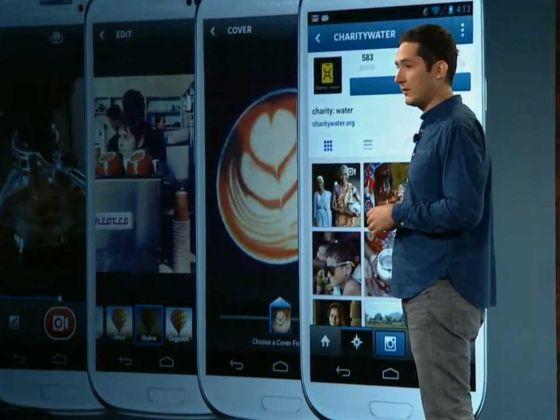 Instagram创始人凯文·希斯特罗姆介绍这款软件最新的短视频分享功能