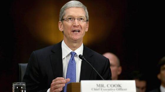 苹果公司CEO蒂姆・库克