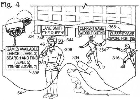 微软提交增强现实眼镜专利