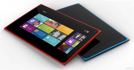 诺基亚平板电脑概念设计
