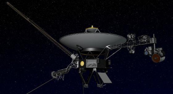 """""""旅行者""""1号探测器发射于1977年,目前距太阳约180亿公里,是在宇宙中飞得最远的人类探测器。2012年以来,科学家们一直在急切地等待着它飞出太阳系的历史性时刻。"""