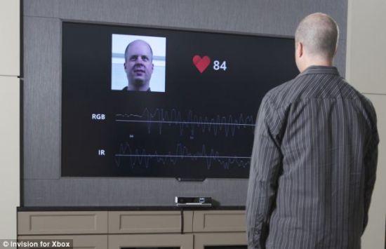 微软新一代Kinect可隔1.2米监控人体心率