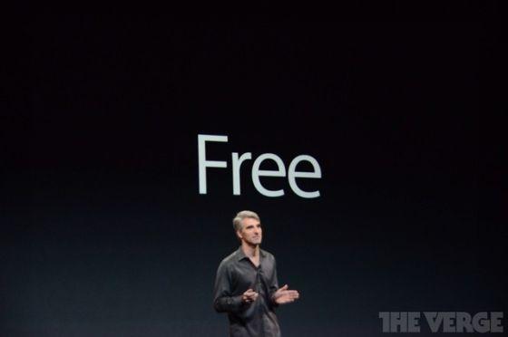 苹果公司宣布,新款Mac电脑操作系统Mavericks今天起免费升级。