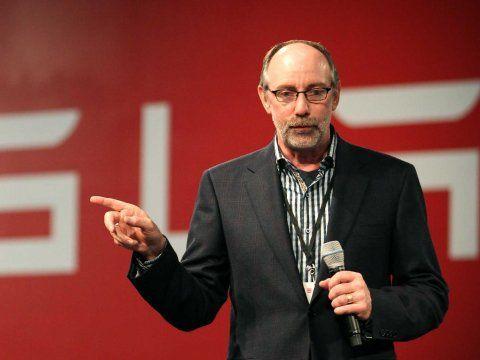斯拉汽车销售及车主体验副总裁乔治·布兰肯希普(George Blankenship)
