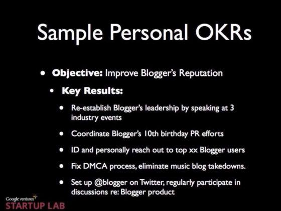 谷歌员工考核系统OKR