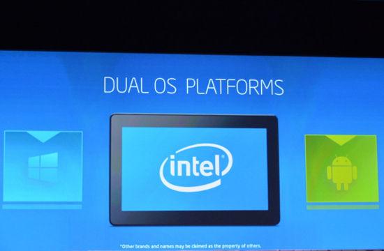 英特尔推双系统平台压制ARM