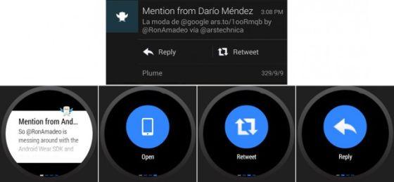 Android Wear与第三方应用兼容很好