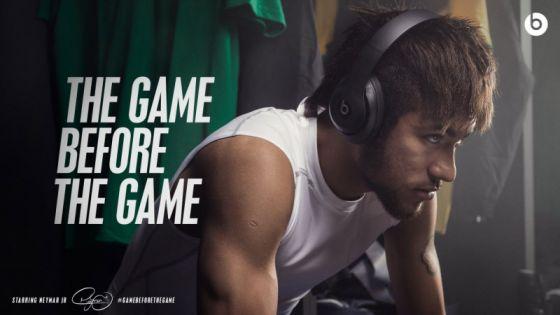 Beats针对世界杯推出的新广告《The Game Before the Game》截图