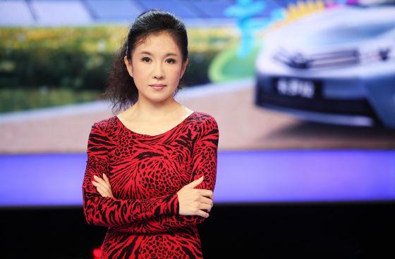 陈晓薇在5要赢演播现场