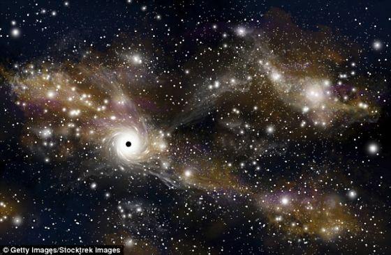 光年之遥:距离地球最近的黑洞大约在2.6万光年之外