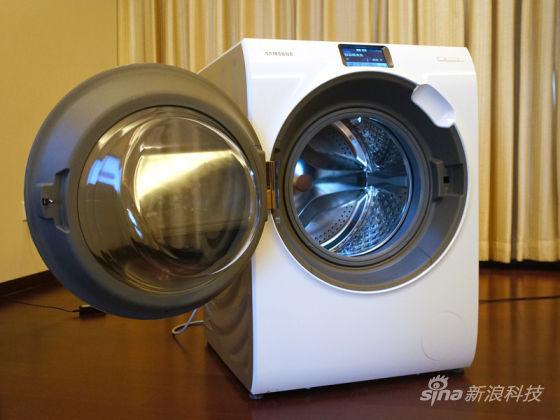三星WW9000智能滚筒洗衣机