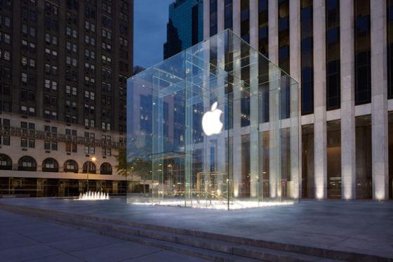 苹果公司位于纽约第五大街的零售店