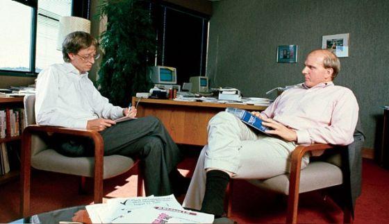 微软CEO更迭内幕:鲍尔默与老友盖茨不再联系
