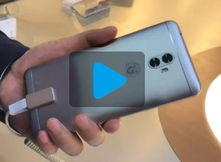 金立A1系列手机现场试玩