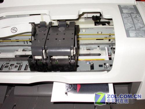 爱普生me1 彩色喷墨打印机内部结构