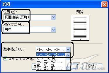 在WPS2007中插入漂亮的页码样式