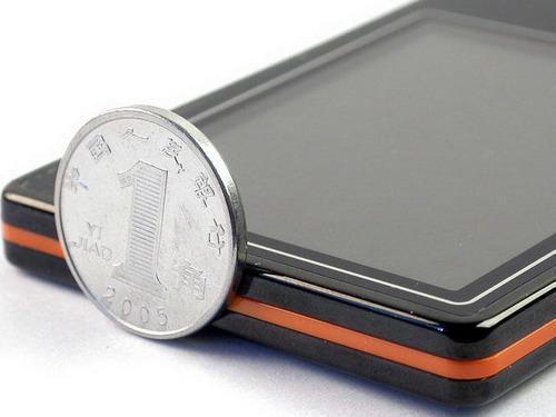 最多只有4个硬币厚超薄MP3集中选购(4)