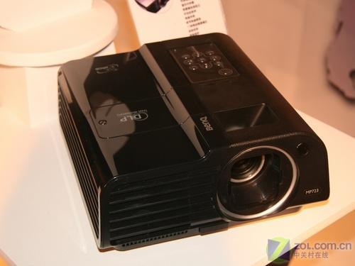 首款皮质商务机明基MP723投影上市促销