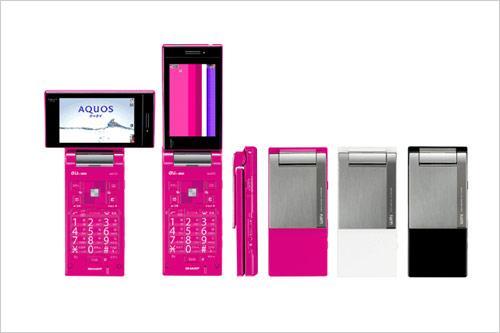 移动电视新享受夏普电视手机W61SH发布