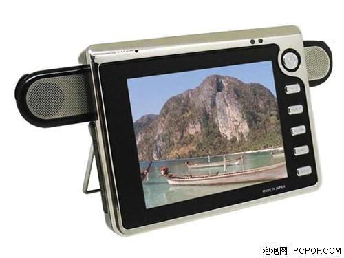 外观设计新感觉力驰MP4蝶舞V200评测