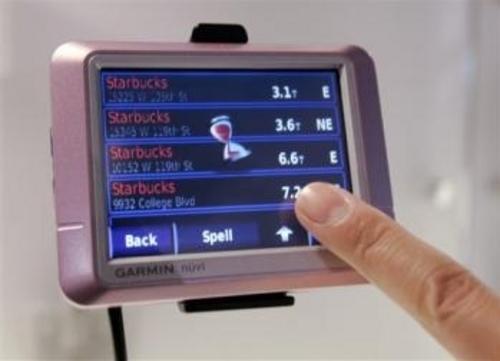 GPS竞争激烈CES2008体现未来新趋势