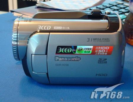 30G硬盘DV松下H258速降300欲破5K大关