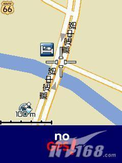 地图随身带没有GPS也使用Route66导航