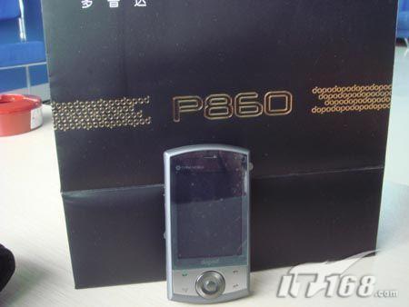 完美王者多普达GPS智能机P860跌800