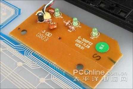 拆解最牛防水键盘双飞燕G300大禹治水评测(8)
