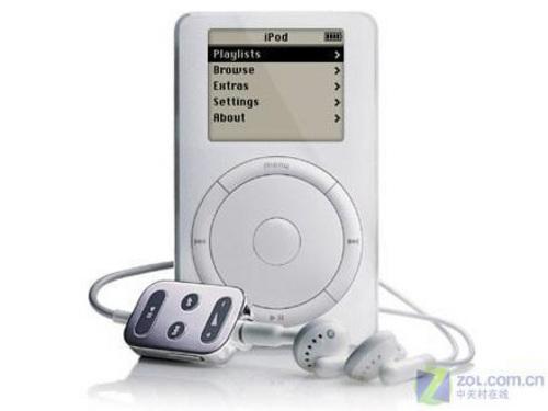 从2001到2008历代苹果iPod产品回顾