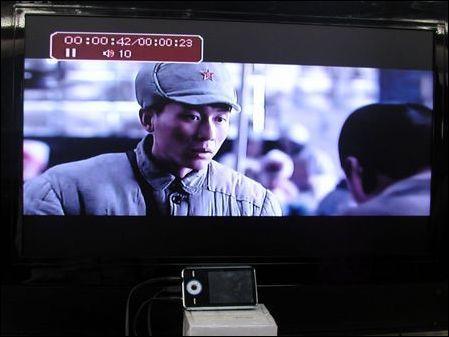很好很清晰蓝魔RM935样机TV-OUT试用(3)