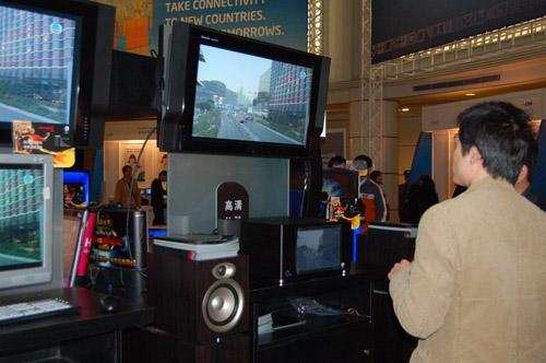 IDF08:未来客厅主角无线高清展示