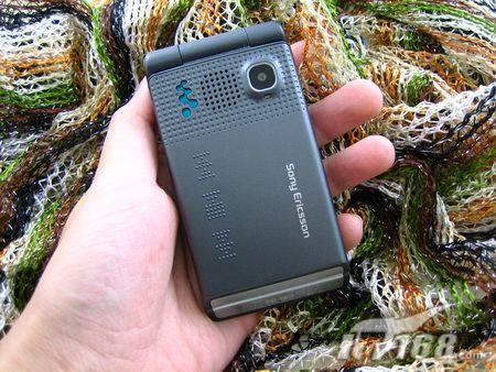 Walkman感应触控索尼爱立信W380c图赏