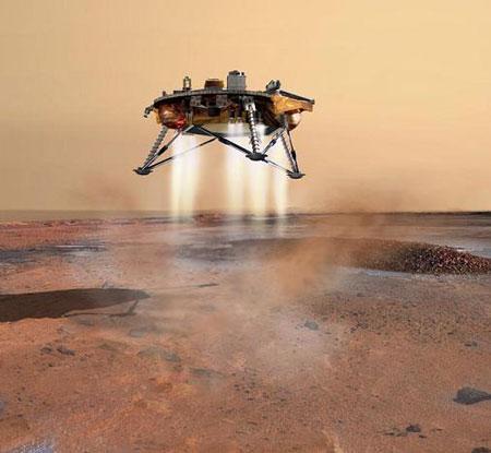 凤凰号26日软着陆火星北极将经历恐怖7分钟