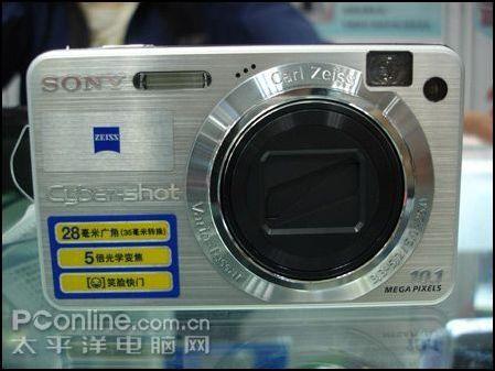 5倍光变广角卡片索尼W170降价现售2230