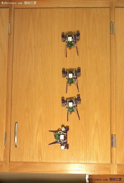蜘蛛侠攀爬机器人初步完成