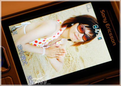 时尚运动风格索爱三防导航拍照C702评测(6)