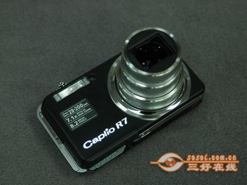 全能卡片机再度走低 理光R7仅售1700元